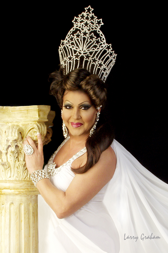 KCQ XIX Nicole DuBois as Miss Gay America 2006