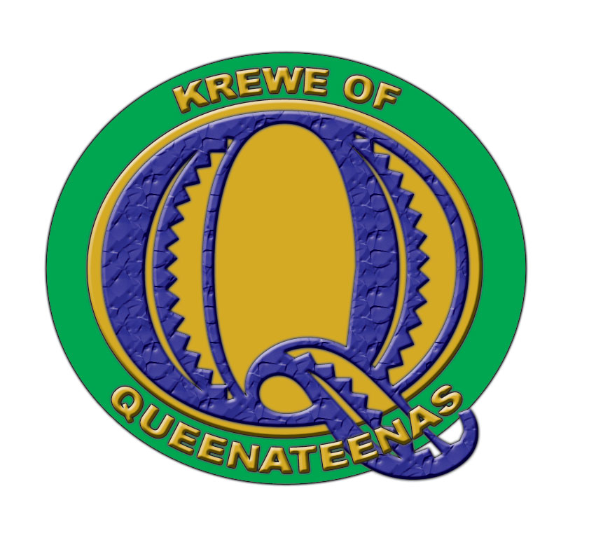 Krewe of Queenateenas Logo